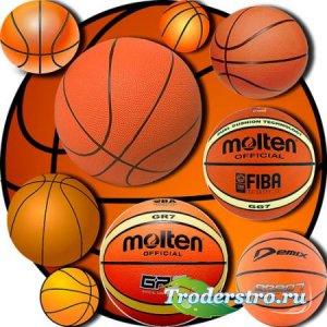 Качественные клипарты - Баскетбольные мячи