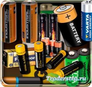Png без фона - Электрические батарейки