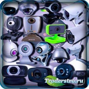 Растровые клипарты - Веб камеры