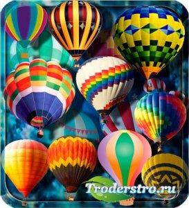 Растровые клипарты - Воздушные шары