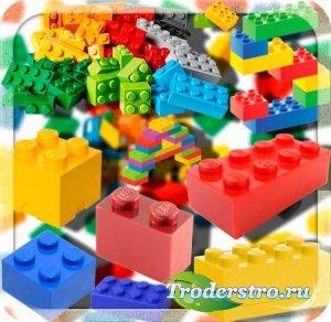 Растровые клипарты - Конструктор лего