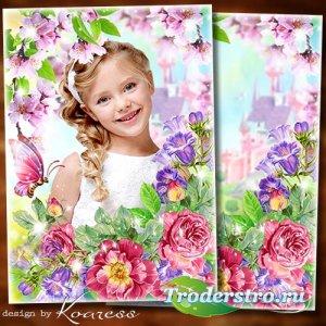 Рамка для детских фото - Тебе желаю в день весенний озорного настроения