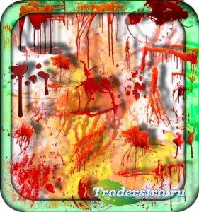 Клипарты без фона - Алая кровь