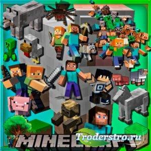 Png прозрачный фон - Игра Minecraft