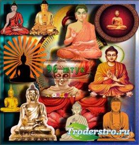 Png прозрачный фон - Индийская Будда