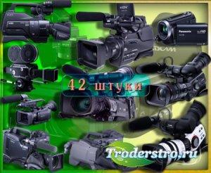 ЮPng клипарты для фоторамки - Видеокамеры