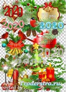 Клипарт png - Новогодние украшения