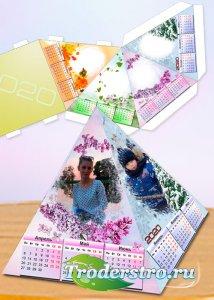Настольный календарь-домик на 2020 год - Семья