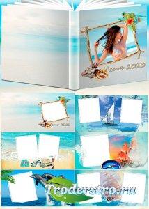 Летний фотоальбом - У самого синего моря
