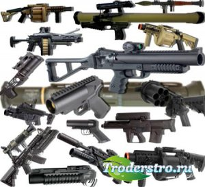 Растровые клипарты для фоторамок - Оружейные прицелы