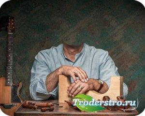 Фотошаблон для фотошопа - Гитарных дел мастер