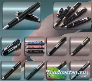 Png клипарты без фона - Пишущие ручки