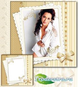 Рамка для фотографии - Нежная открытка на память