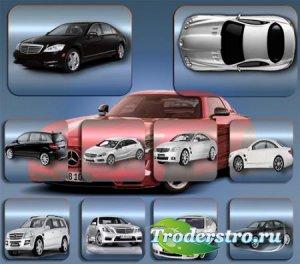 Прозрачные клипарты для фотошопа - Авто mercedes