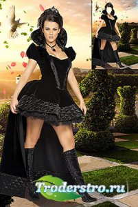 Костюм для фотошопа | Шахматная королева